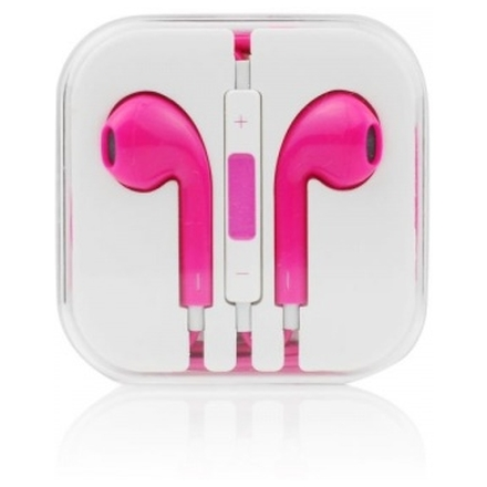 Handsfree/sluchátka univerzální MEGA BASS, růžová HQ 29480