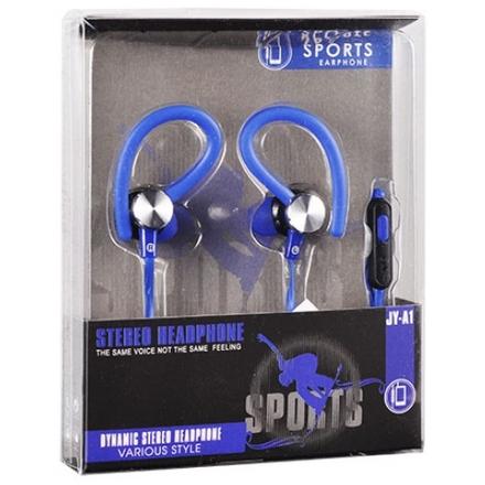 Sluchátka Sport JY-A1 modrá 42287