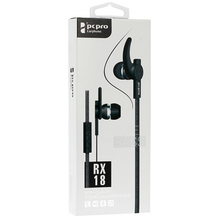 Sluchátka RX-18 černá 48588
