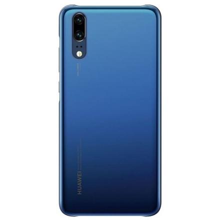 Originální pouzdro - Huawei P20 - Color Case (51992347) tmavě MODRÁ