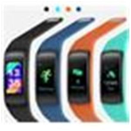 EVOLVEO FitBand B3, náhradní barevné pásky, 1x modrá a 1x oranžová barva, FTD-B3-RS2