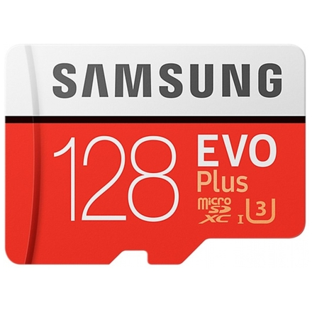 Samsung micro SDXC 128GB EVO Plus + SD adaptér, MB-MC128GA/EU