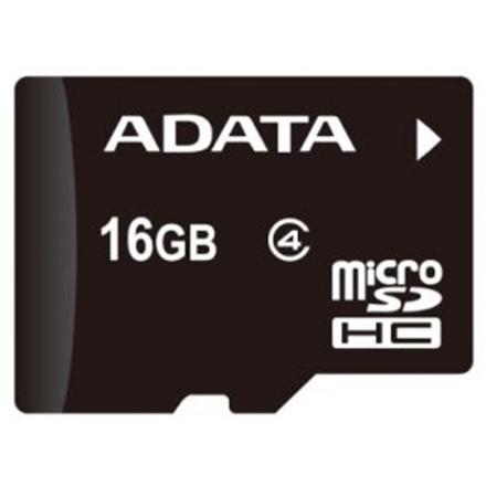 ADATA 16GB MicroSDHC Card Class 4, AUSDH16GCL4-R