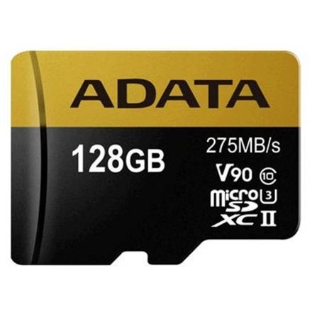 ADATA 128GB MicroSDXC UHS-II U3 bez adapteru, AUSDX128GUII3CL10-C
