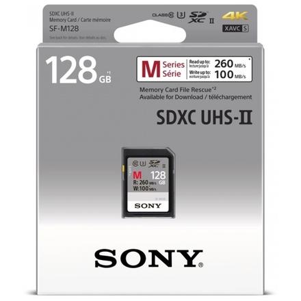 SONY SD karta SFG1M, 128GB, class 10, až 260MB/s, pro 4K, SFG1M