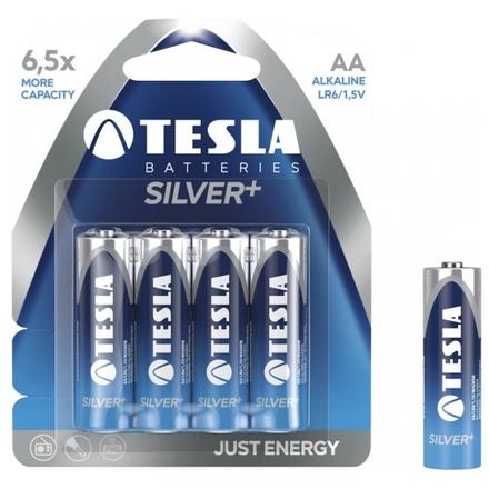 TESLA - baterie AA SILVER+, 4ks, LR06, 1099137005
