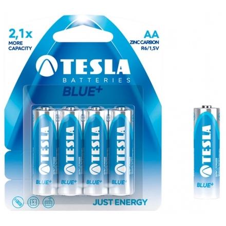 TESLA - baterie AA BLUE+, 4ks, R06, 1099137006