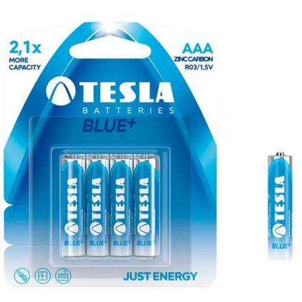 TESLA - baterie AAA BLUE+, 4ks, R03, 1099137003