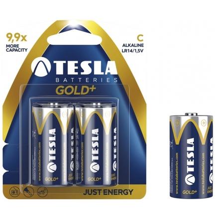 TESLA - baterie C GOLD+, 2ks, LR14, 1099137021