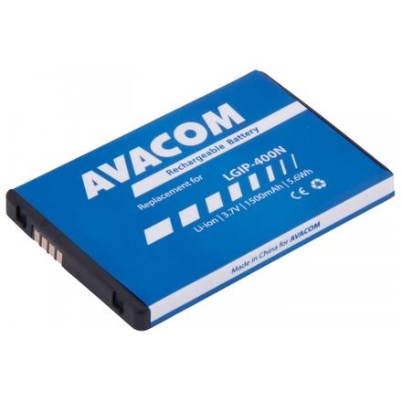 Baterie AVACOM GSLG-P500-1500 do mobilu LG P500 Optimus One Li-Ion 3,7V 1500mAh, GSLG-P500-1500