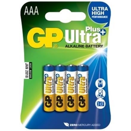 Gp Baterie GP Ultra Plus 4x AAA, 1017114000