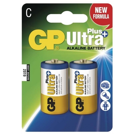 Gp Baterie GP Ultra Plus 2x C, 1017312000