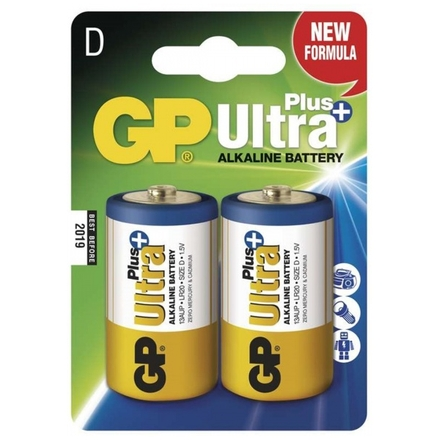 Gp Baterie GP Ultra Plus 2x D, 1017412000