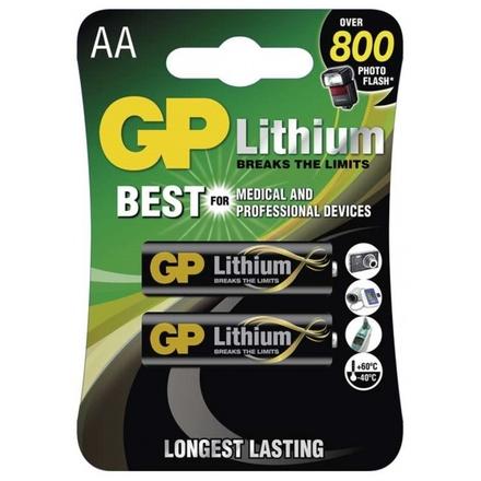 Gp Baterie Lithiová Baterie GP AA - 2ks, 1022000711
