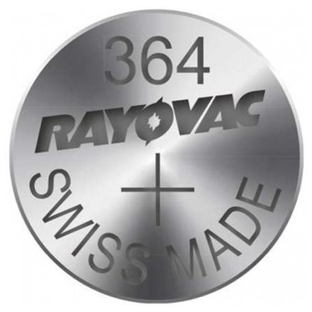 Gp Baterie Alkalická baterie RAYOVAC 364 -10ks, 9043005200