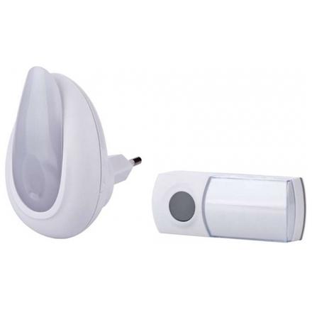 Emos Bezdrátový zvonek s optickou signalizací, 3402023000