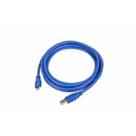 Gembird Kabel USB A-B micro 1,8m 3.0, modrý, CCP-mUSB3-AMBM-6