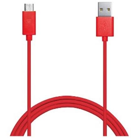 BELKIN MixIt microUSB kabel_tablet,phone,2m červen, F2CU012bt2M-RED