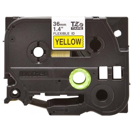 Brother TZE-FX661 žlutá / černá, 36mm, TZEFX661