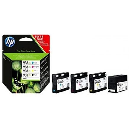 HP 932XL/933XL Combo Pack, C2P42AE