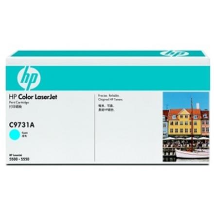 HP Color LaserJet azurový toner, C9731A, C9731A