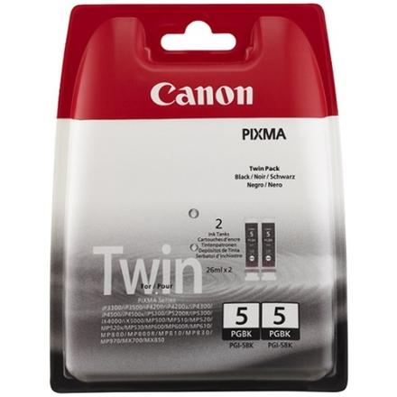 Canon PGI-5Bk inkoustová kazeta černá - 2- pack, 0628B030