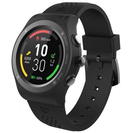 iGET ACTIVE A6 Black - chytré hodinky, IP68, GPS, IPS, BT4.0, Barometr, Výškoměr, Multisport, 350mAh, A6 Black