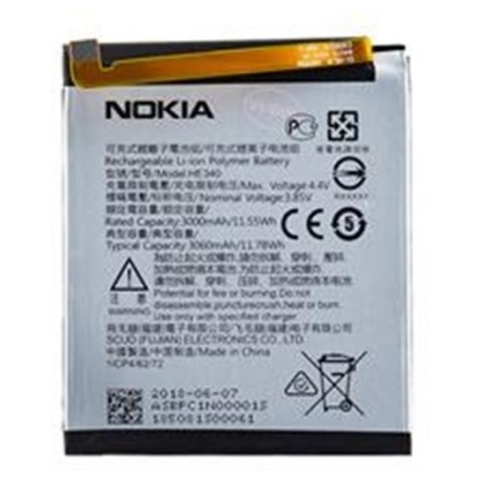 Nokia Baterie HE340/HE347 3000mAh Li-Pol (Bulk), 8596311026614