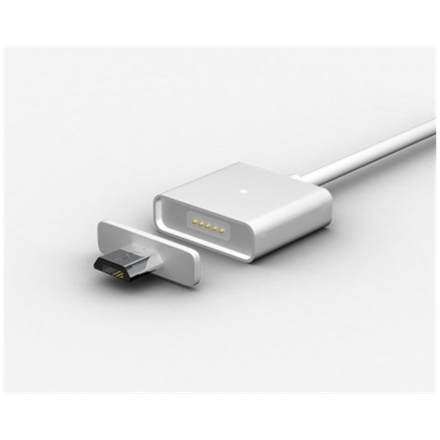 MicroUSB magnetický kabel, dvě koncovky 1m, PCI-047