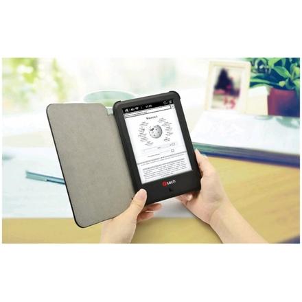 C-TECH PROTECT pouzdro pro C-TECH Lexis, hardcover, LSC-01, wake/sleep funkce, černé, LSC-01BK