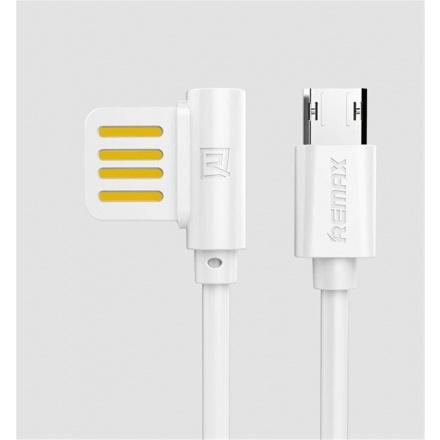 Remax RC-075m datový kabel Micro USB,bílý, AA-7073