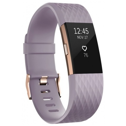 Fitbit Charge 2 Lavender Rose Gold - Large, FB407RGLVL-EU