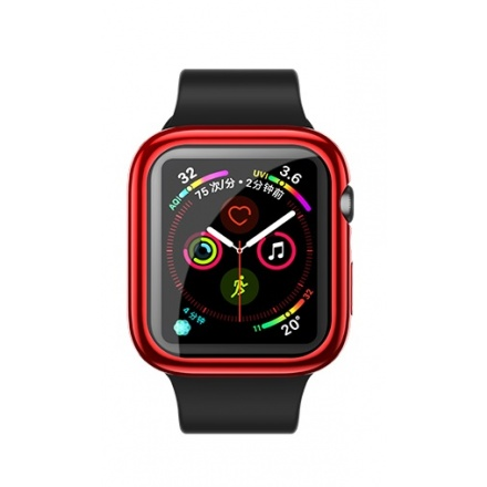 USAMS BH486 TPU Full Protective Pouzdro pro Apple Watch 44mm Red (EU Blister), 2444473