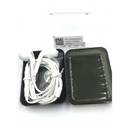 EO-EG920BW Samsung Stereo Headset 3,5mm White (Black Samsung Box), 2432924