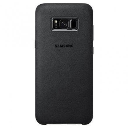 EF-XG955ASE Samsung Alcantara Cover Dark Grey pro G955 Galaxy S8 Plus (Pošk. Blister), 2442733