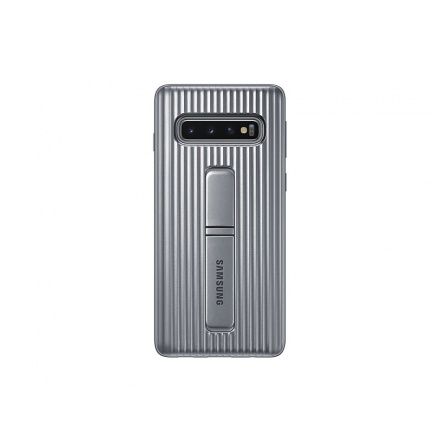 EF-RG973CSE Samsung Standing Cover Silver pro G973 Galaxy S10 (EU Blister), 2443752