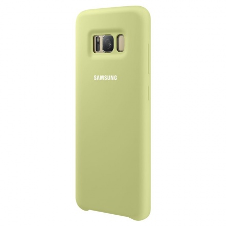 EF-PG950TGE Samsung Silicone Cover Green pro G950 Galaxy S8 (EU Blister), 2434186