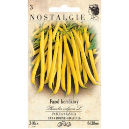 Nohel Garden keříčkové fazole žluté, 15 semen