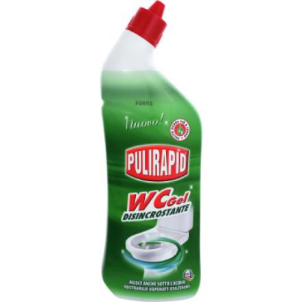 Madel Pulirapid svěží mořská vůně Wc gel, čistič na toaletní mísy, 750 ml