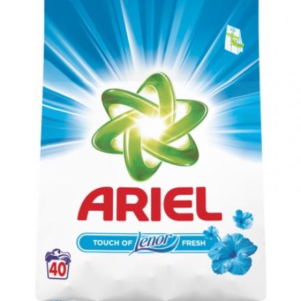 Ariel Touch of Lenor prací prášek, 40 praní, 3 kg