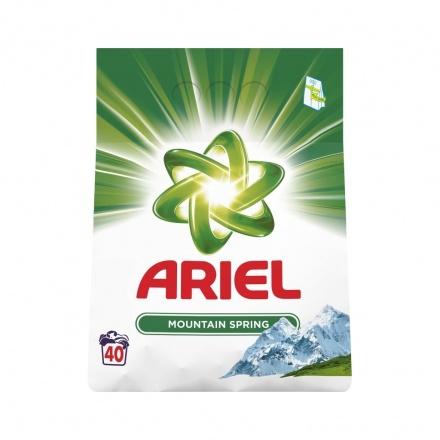 Ariel Mountain Spring prací prášek, 40 dávek, 3 kg