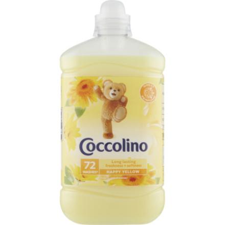 Coccolino Happy Yellow aviváž 72 dávek 1,8 l