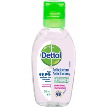 Dettol antibakteriální gel na ruce s heřmánkem, 50 ml