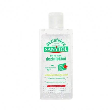 Sanytol dezinfekční gel na ruce, ničí viry a bakterie, 75 ml