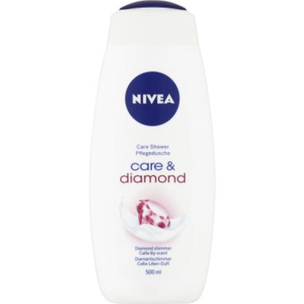 Nivea Care & Diamond, pečující sprchový gel, 500 ml