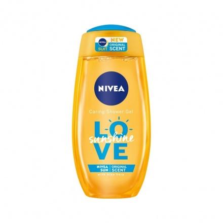 Nivea Love Sunshine Osvěžující sprchový gel s aloe vera 500 ml