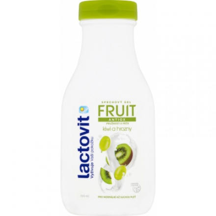 Lactovit Fruit Antiox sprchový gel, 300 ml