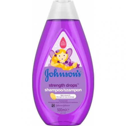Johnson's Baby Strength Drops šampon, 500 ml