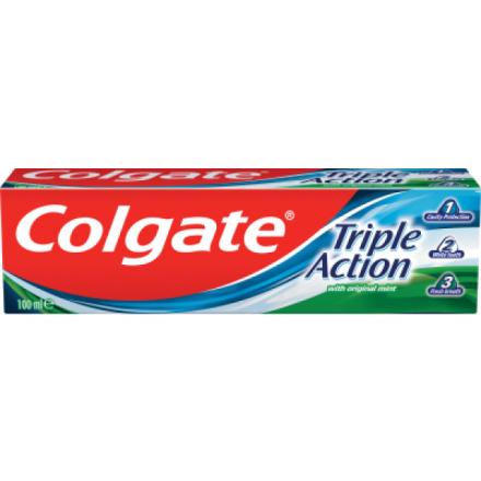 Colgate Triple Action, zubní pasta, 100 ml