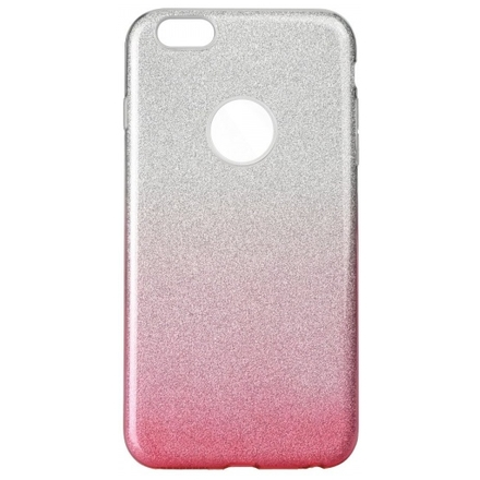 Pouzdro Shining Xiaomi Redmi Note 4/Note 4X stříbrná-růžová PT105